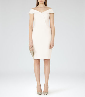 Haddi Off-The-Shoulder Dress $370 thestylecure.com