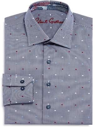 Robert Graham Boys' Checks & Dots Dress Shirt - Big Kid