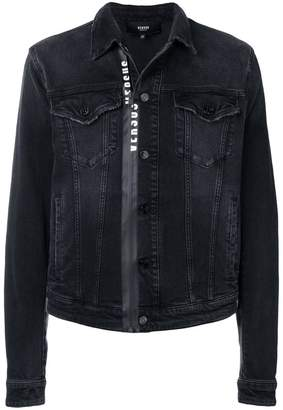 Versus classic zip-front jacket