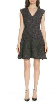 Rebecca Taylor Sparkle Stretch Dress