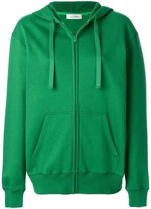 Valentino logo patch hoodie