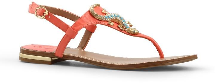 C. Wonder Nappa Leather Gecko Sandal