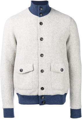 Barba buttoned jacket
