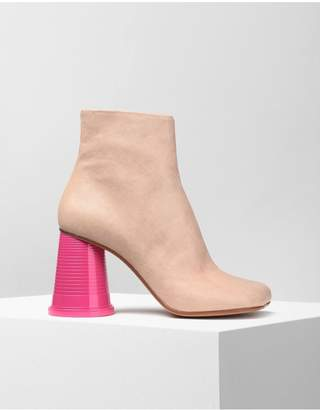 Maison Margiela Ankle Boots With Cup Heels