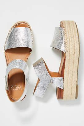 Franco Sarto Platform Espadrille Sandals