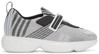 Prada Silver Cloudbust Sneakers