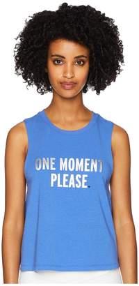Kate Spade Athleisure One Moment Please Tank Top Women's Sleeveless
