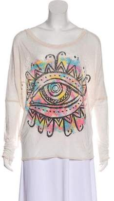 Chaser Printed Long Sleeve Top