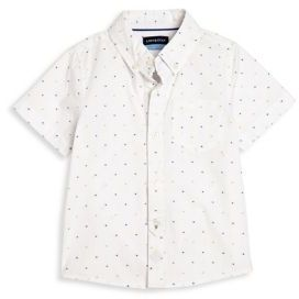 Andy & Evan Babys Clipped Short Sleeve Shirt $46 thestylecure.com