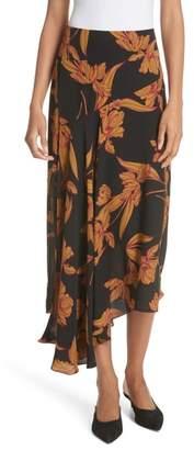 A.L.C. (エーエルシー) - A.L.C. Lev Print Silk Midi Skirt