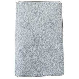 Louis Vuitton Pocket Organizer White Leather Small Bag, wallets & cases
