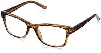 Foster Grant Eyezen Digital Glasses - Black/Brown Stripe
