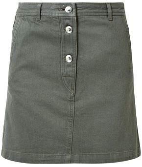 A.P.C. Cotton-Gabardine Mini Skirt