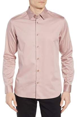 Ted Baker Crazee Slim Fit Stretch Sport Shirt