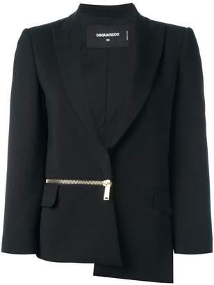 DSQUARED2 side zip blazer