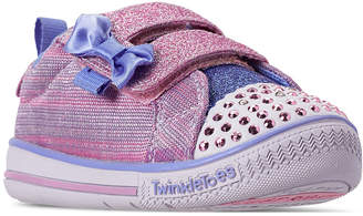 Skechers Toddler Girls' Twinkle Toes: Twinkle Play - Sparkle Sprinter Casual Sneakers from Finish Line
