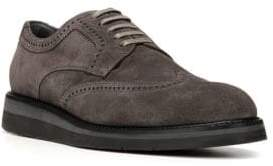 Vince Pryce Suede Wingtip Shoes