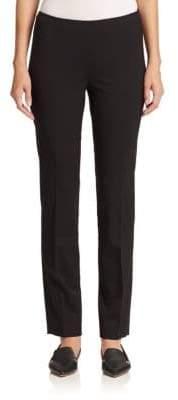 Lafayette 148 New York Italian Stretch Wool Full Length Stanton Pant