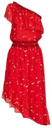 Joie Hafsa One-Shoulder Midi Dress