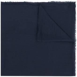 Faliero Sarti raw edge lightweight scarf