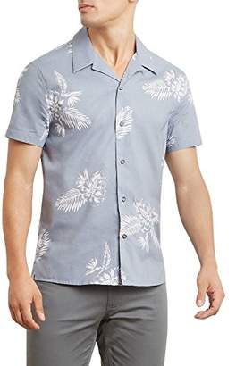 Kenneth Cole New York Men's Etched Tropical