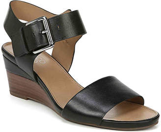 d9fa36b37589 Franco Sarto Stacked Heel Women s Sandals - ShopStyle