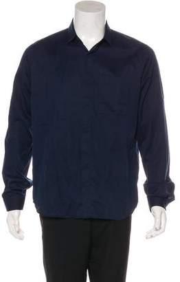 Valentino Woven Dress Shirt