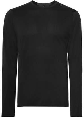 Lululemon Fast and Free Breathe Light Mesh T-Shirt - Men - Black