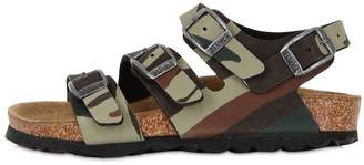 Birkenstock Canberra Camo Faux Leather Sandals
