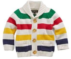 Hudson's Bay Company Striped Knit Baby Cardigan