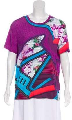 Mary Katrantzou Abstract Print Knit Top