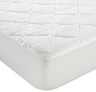ClimaDry Twin Mattress Pad in White