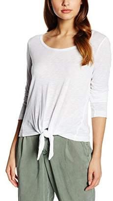 Splendid Women's Slub Jersey Tie Front Plain Long Sleeve Tops,8 (Manufacturer Size:Small)