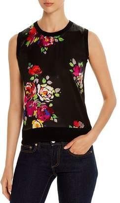 Kate Spade Rare Roses Sleeveless Sweater