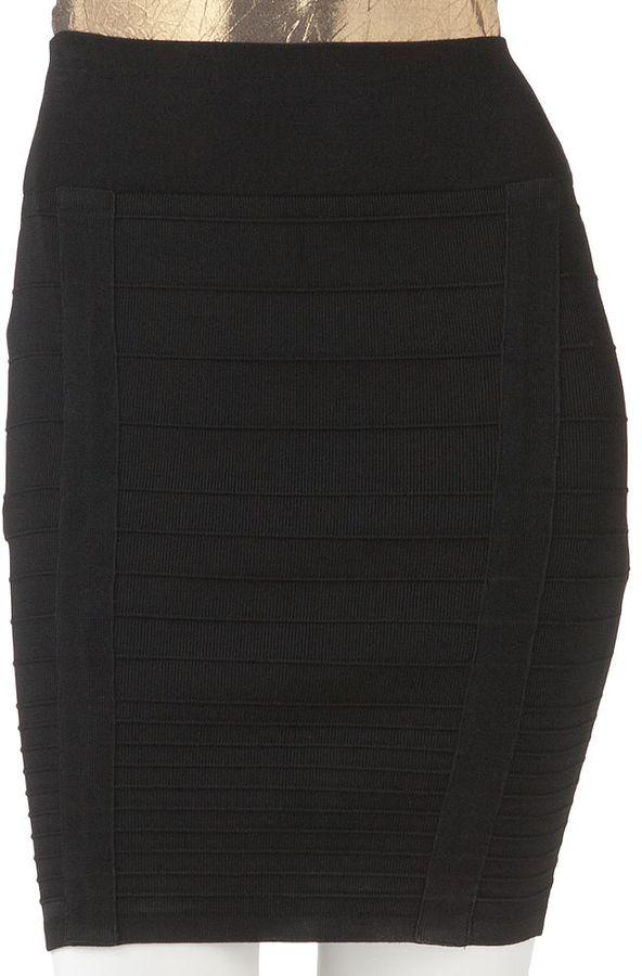 Rock & Republic bandage miniskirt - women's