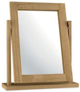 Debenhams Bentley Interwood Oak Finished 'Burlington' Vanity Mirror