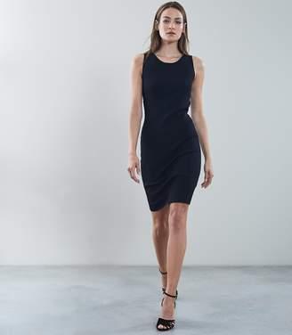 Reiss Lara Back Detail Knitted Bodycon Dress