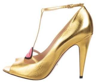 bbc769e14ad4 Gucci Gold Heels - ShopStyle Canada