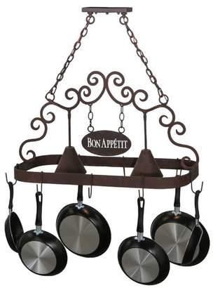 Tiffany & Co. Meyda Bon Appetit 2 Light Pot Rack