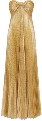 Alexis Joya Pleated Maxi Dress
