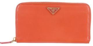 pradaPrada Saffiano Zip Around Wallet
