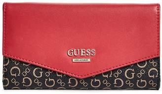 Factory GUESS Women's Birch Slim Logo Wallet