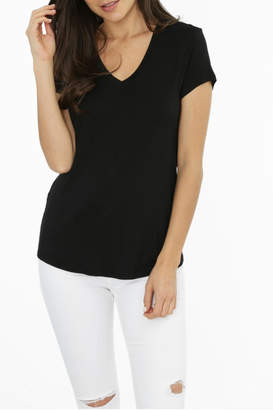 Bobi Los Angeles Cutout Back Tee