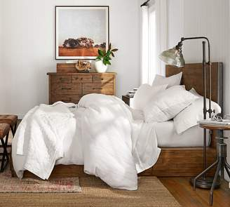 Pottery Barn Big Daddy's Antiques Reclaimed Wood Storage Bed