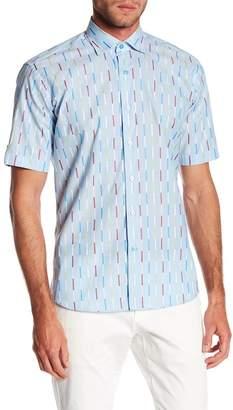 Maceoo Fresh Striped Short Sleeve Regular Fit Shirt