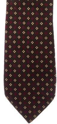 Burberry Geometric Silk Tie