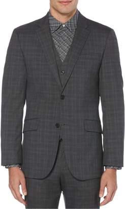 Perry Ellis Principles Slim-Fit Plaid Suit Jacket