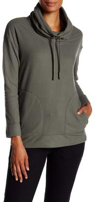 James Perse Slouchy Funnel Pullover Sweatshirt