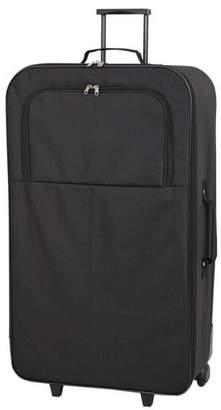 Go Explore 4 piece Wheeled Soft Luggage Set - Black