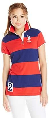 U.S. Polo Assn. U.S. Polo Shirt Assn. Juniors' Rugby-Stripe Polo Shirt